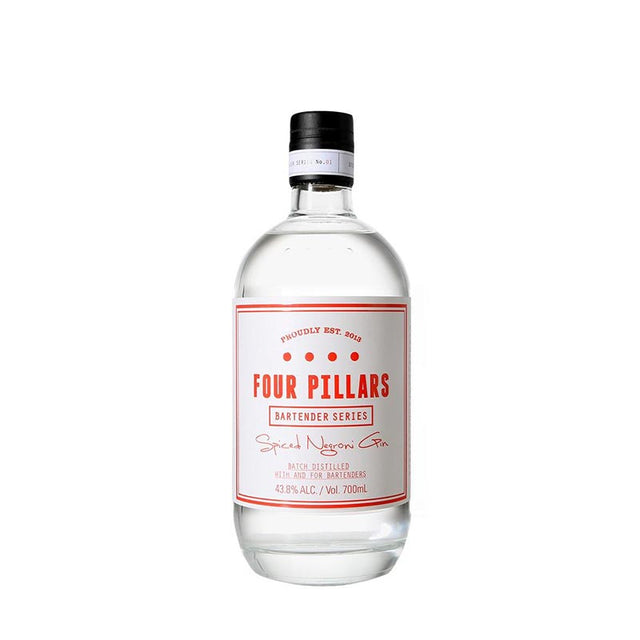 Four Pillars Bartender Series Spiced Negroni Gin