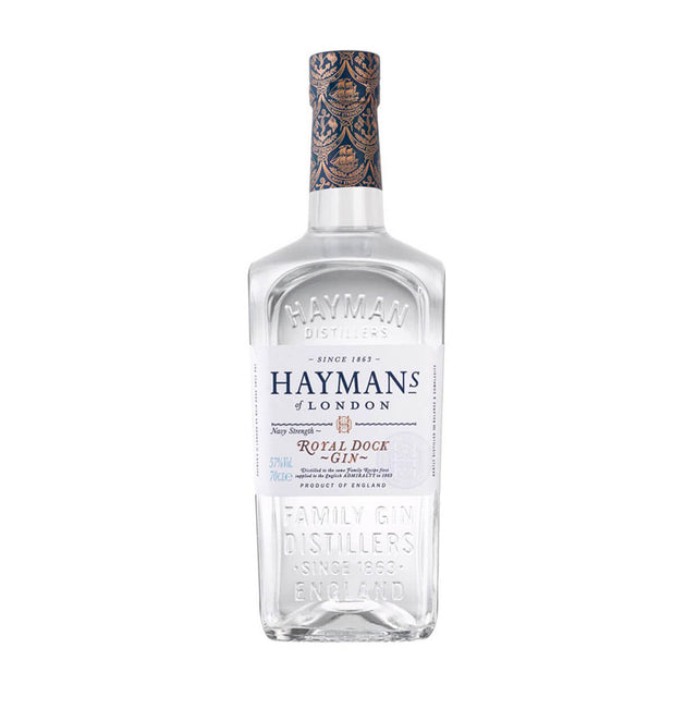 Hayman's Royal Dock Navy Strength Gin 700ml
