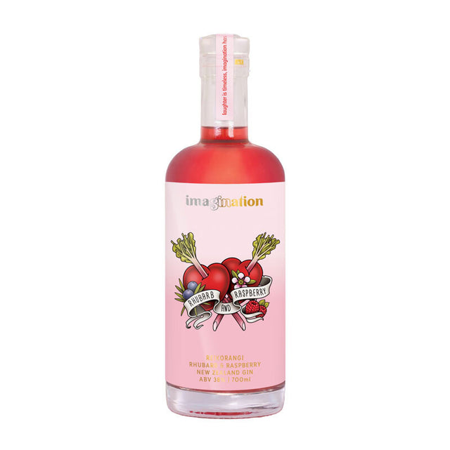 Imagination Rhubarb & Raspberry Gin 700ml