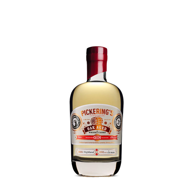 Pickering's Island Oak Aged Gin 350ml