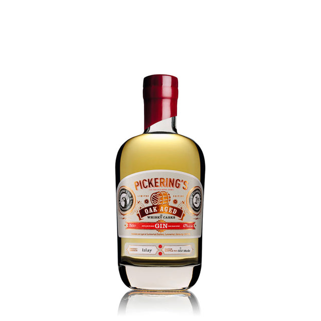 Pickering's Islay Oak Aged Gin 350ml