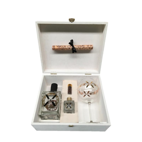 X-Gin Deluxe Wooden Gift Box