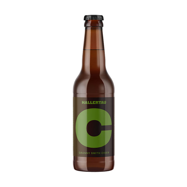 Hallertau Granny Smith Apple Cider : Case of 24 x 330ml Bottles