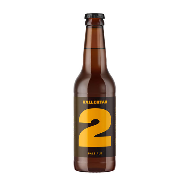Hallertau #2 Statesman Pale Ale : Case of 24 x 330ml Bottles