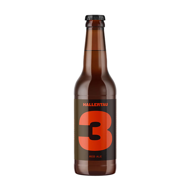 Hallertau #3 Copper Tart Red Ale : Case of 24 x 330ml Bottles
