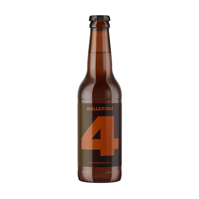 Hallertau #4 Deception Schwarz Bier : Case of 24 x 330ml Bottles