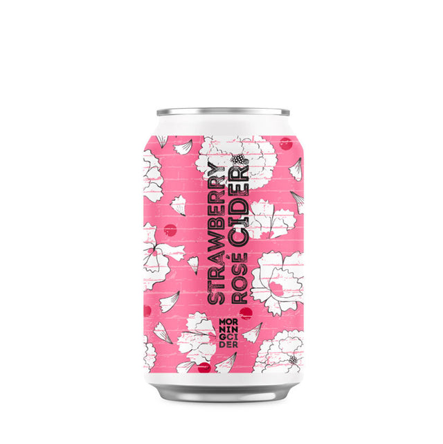Morningcider Strawberry Rose Cider  330ml Can