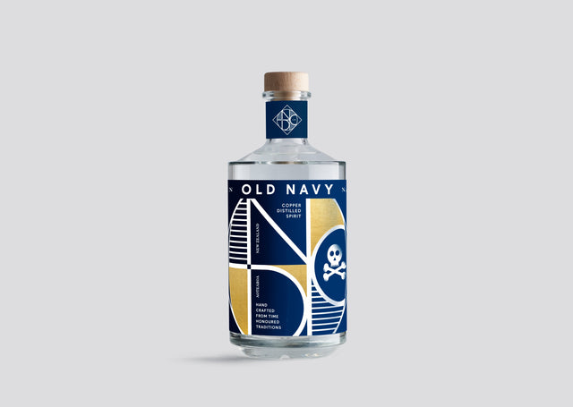 National Distillery Old Navy Navy Strength Gin 700ml
