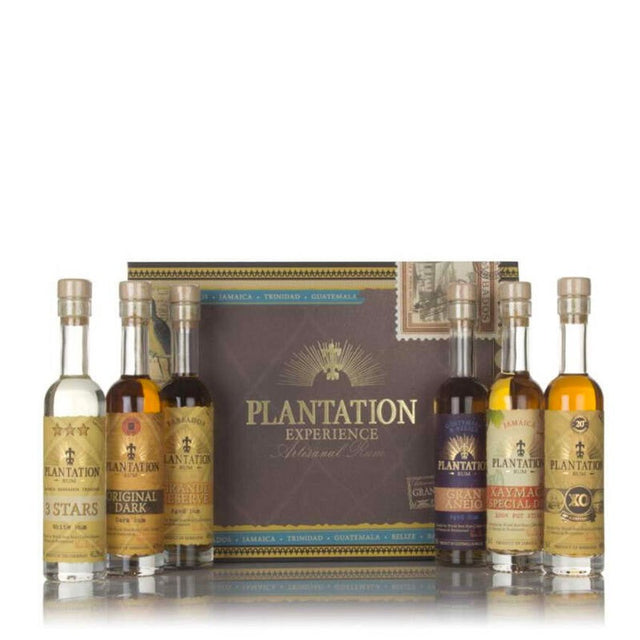 Plantation Rum Experience Gift Pack 6x100ml