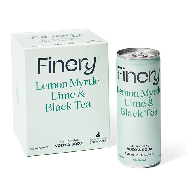 Finery Vodka Lemon Myrtle Lime & Black Tea