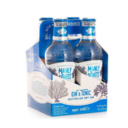 Manly Spirits Australian Dry Gin & Tonic RTD 275ml 4pack