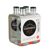 Scapegrace Gin & Blood Orange Tonic RTD 250ml 4pack