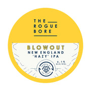 The Rogue Bore Blowout New England 'Hazy' IPA 500ml Bottles