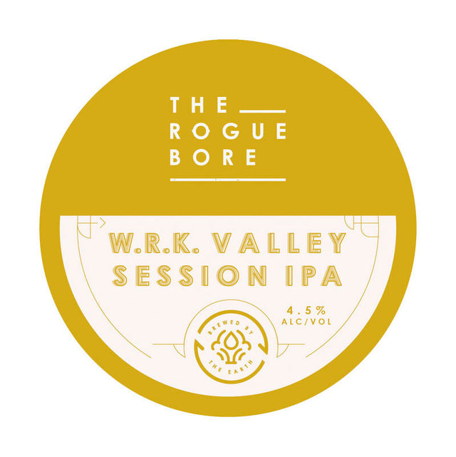 The Rogue Bore W.R.K. Valley Session IPA 500ml Bottles