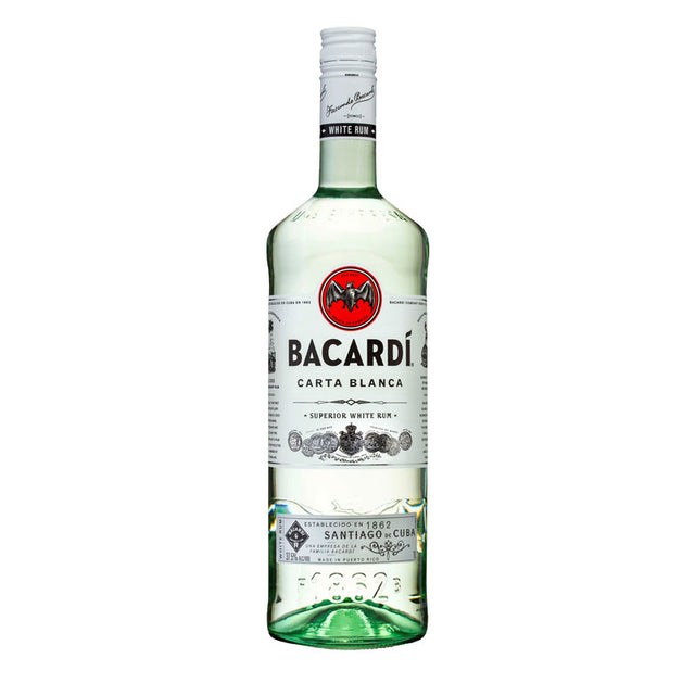 Bacardi Carta Blanca Superior White Rum 1000ml