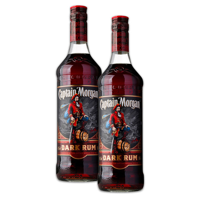 Double Deal : Captain Morgan Dark Rum 1000ml