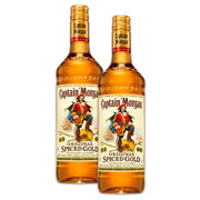 Double Deal : Captain Morgan Spiced Gold Rum 1000ml
