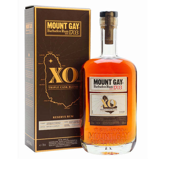 Mount Gay XO Triple Cask Rum 700ml