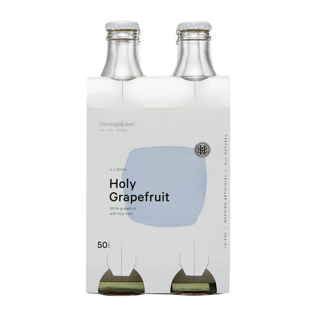 StrangeLove Holy Grapefruit Soda 300ml 4pk