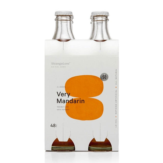 StrangeLove Very Mandarin Soda 300ml 4pk