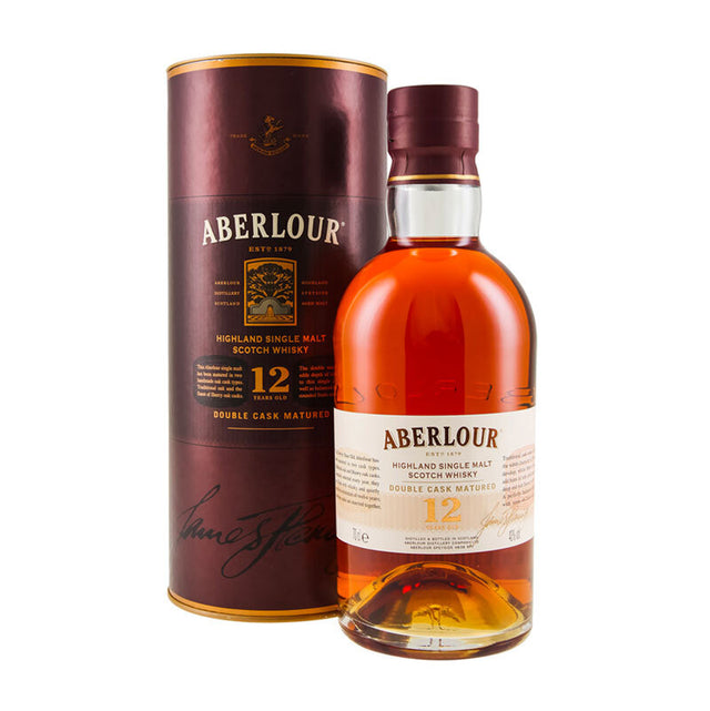 Aberlour 12YO Double Cask Highland Single Malt Scotch Whisky