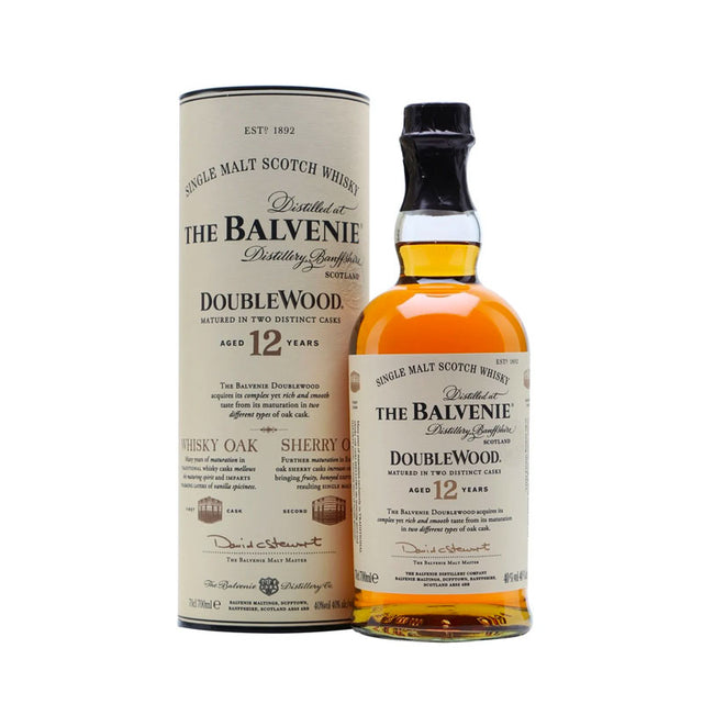 Balvenie 12YO DoubleWood Single Malt Scotch Whisky 700ml