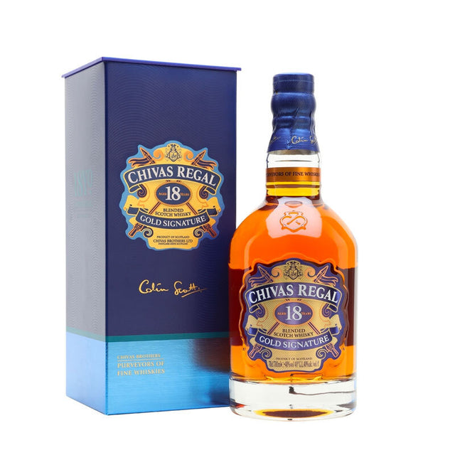 Chivas Regal 18YO Blended Scotch Whisky 700ml