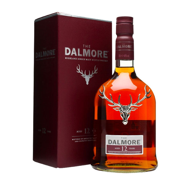 The Dalmore 12 YO Single Malt Scotch Whisky