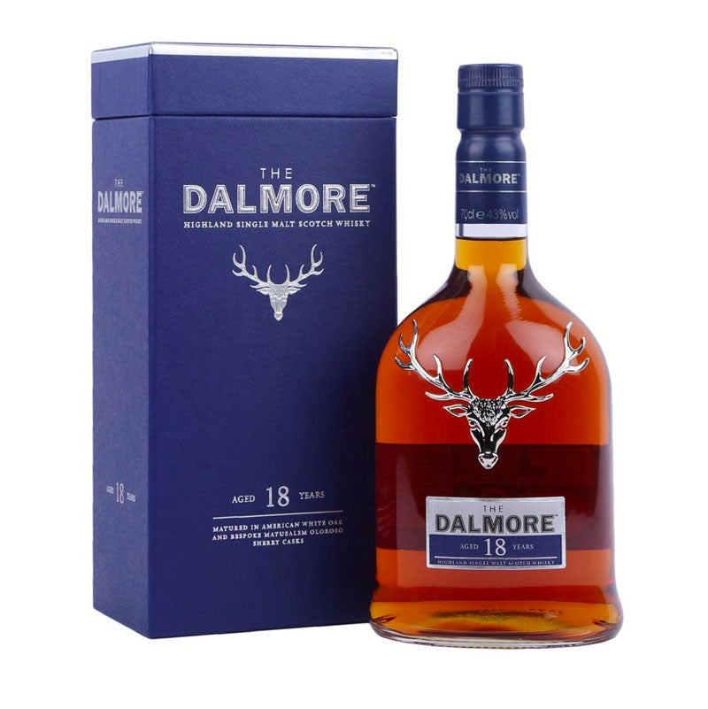 The Dalmore 18 YO Single Malt Scotch Whisky