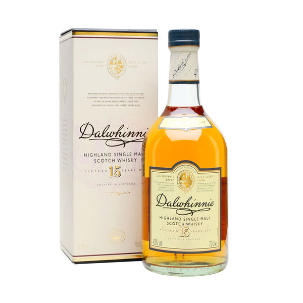 Dalwhinnie 15YO Highland Single Malt Scotch Whisky