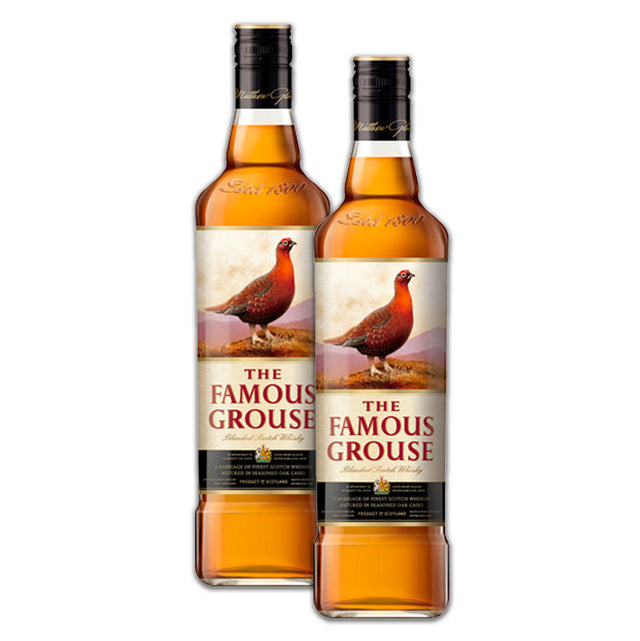 Double Deal : Famous Grouse Scotch Whisky 1000ml