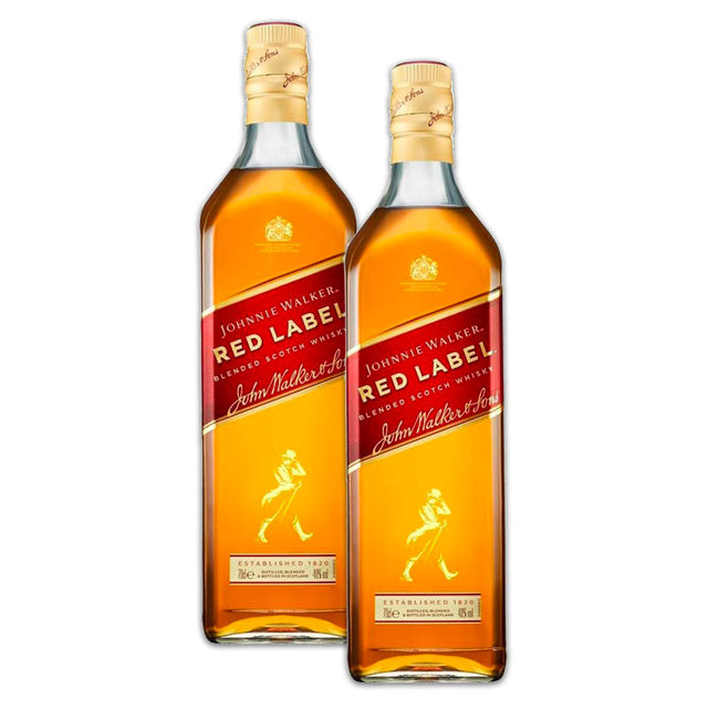 Double Deal :  Johnnie Walker Red Whisky 700ml