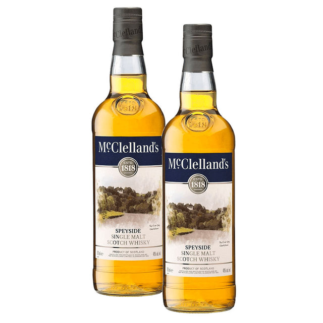 Double Deal : McClelland's Speyside Scotch Whisky 700ml