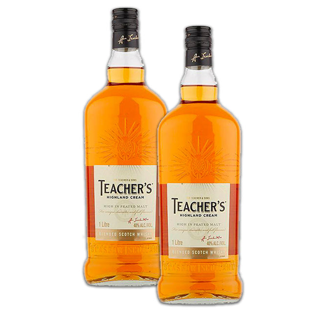 Double Deal : Teachers Scotch Whisky 1000ml