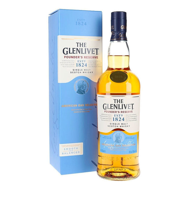 Glenlivet Founders Reserve Single Malt Scotch Whisky 700ml