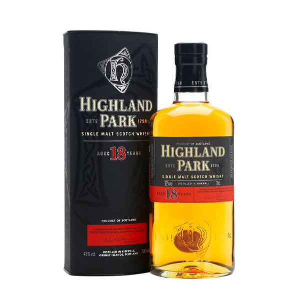 Highland Park 18YO Single Malt Scotch Whisky