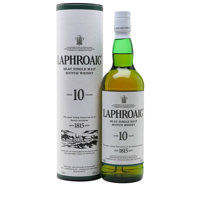 Laphroaig 10YO Islay Single Malt Scotch Whisky