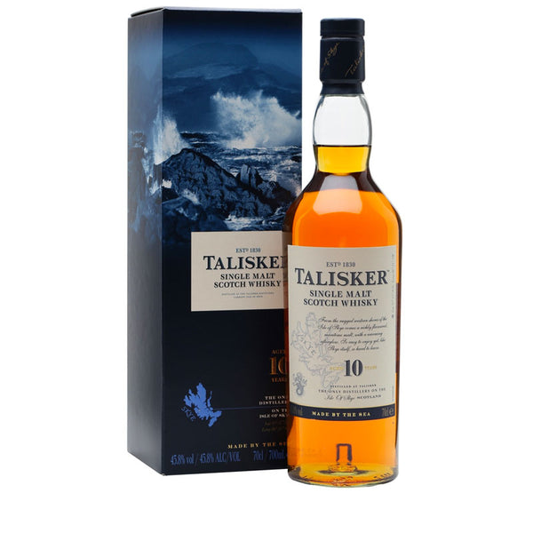 Talisker 10YO Single Malt Scotch Whisky