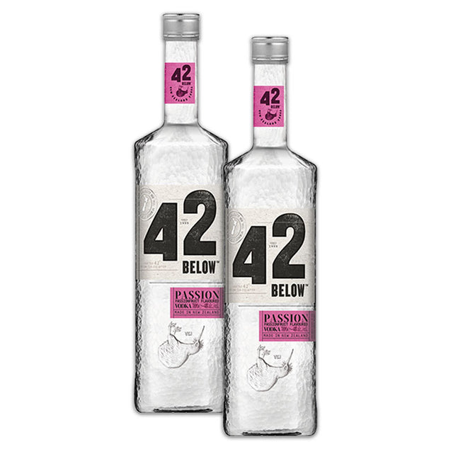Double Deal : 42 Below Passionfruit Vodka 700ml