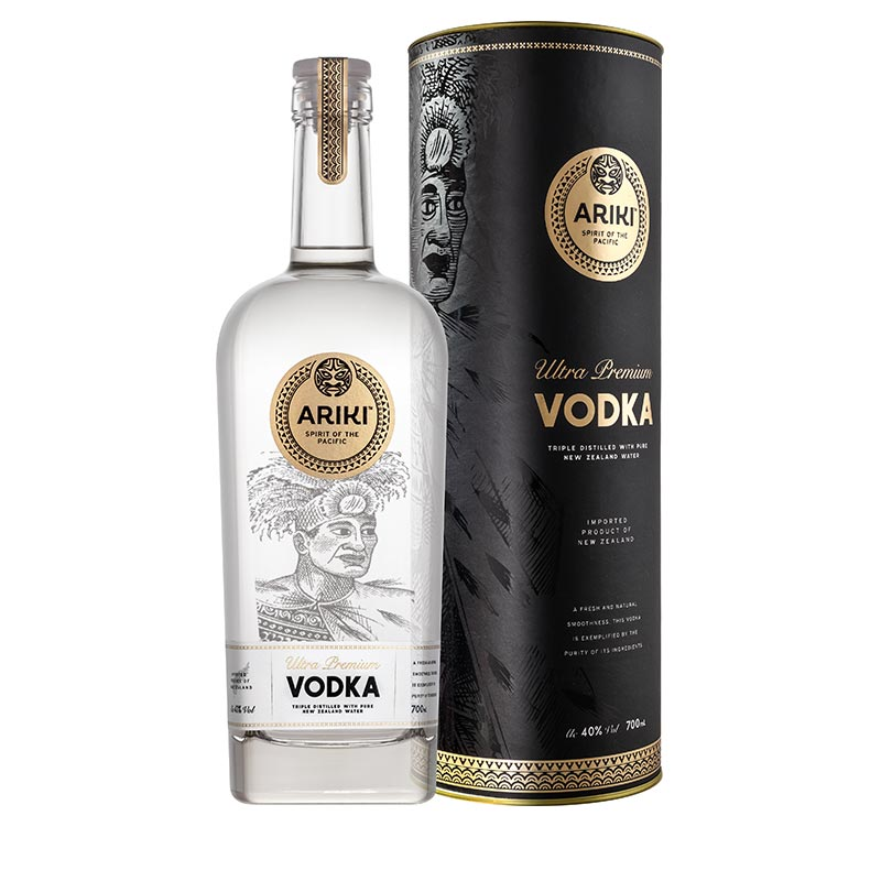 Ariki Ultra Premium Vodka with Gift Tube