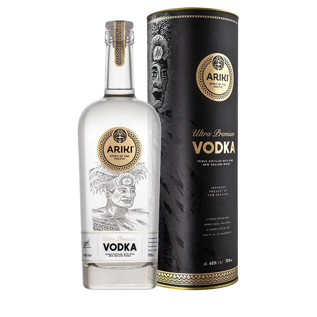 Ariki Ultra Premium Vodka with Gift Tube 700ml