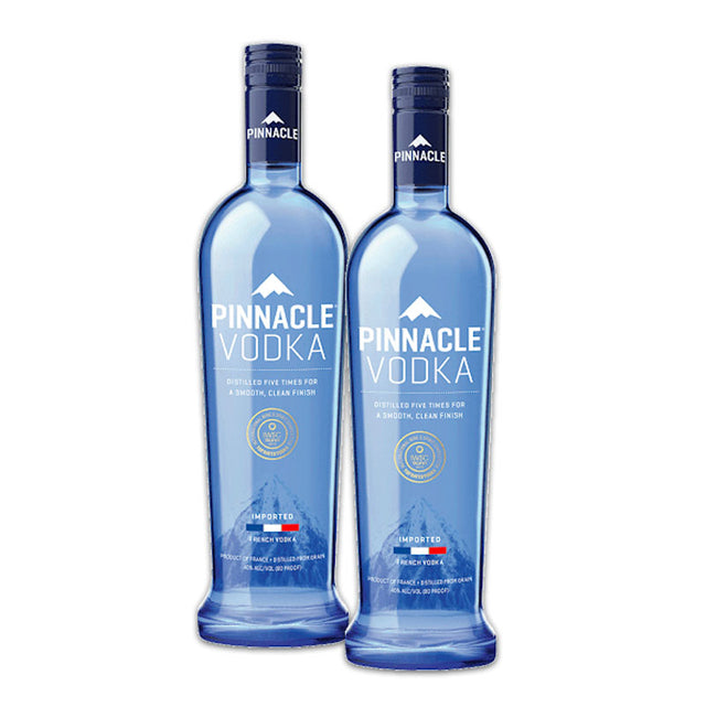 Double Deal : Pinnacle Pure Vodka 1000ml