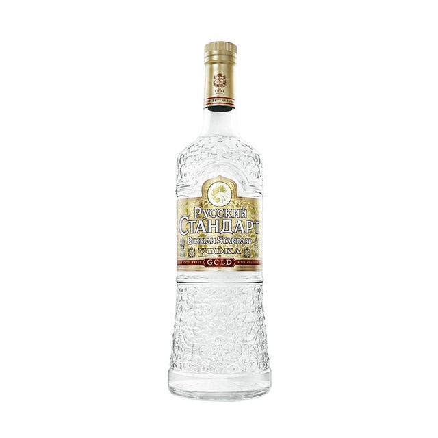 Russian Standard Gold Vodka 1000ml