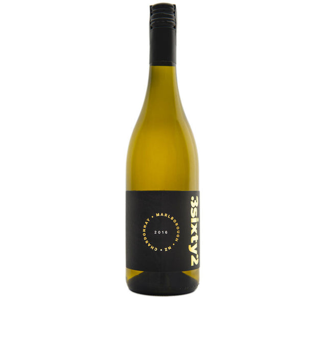 3Sixty2 2016 Marlborough Chardonnay Bottle
