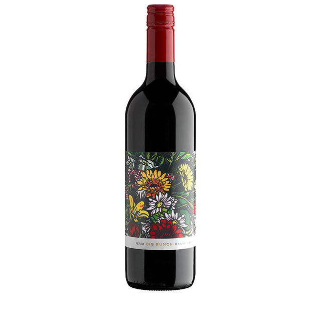 Big Bunch Hawkes Bay Merlot 2014 (6 bottle case)