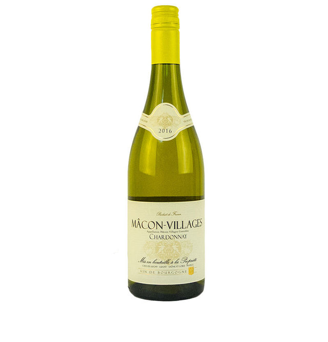 Cave de Lugny Macon Villages Chardonnay bottle