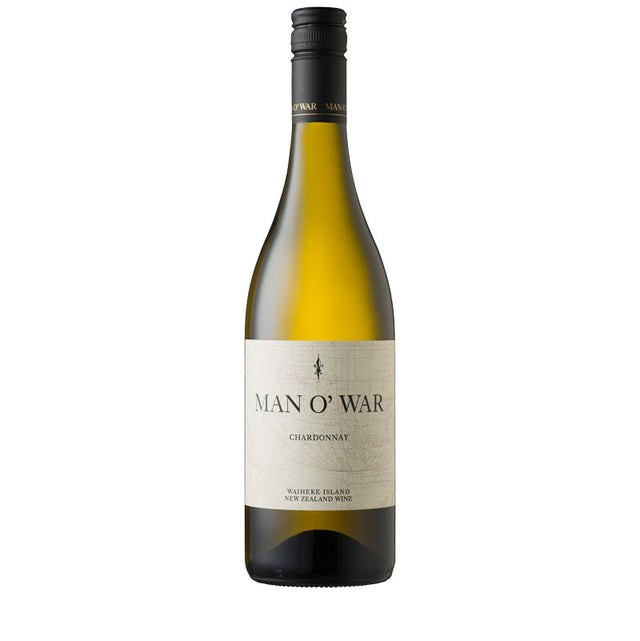 Man O' War Waiheke Island Estate Chardonnay 2018 (6 bottle case)