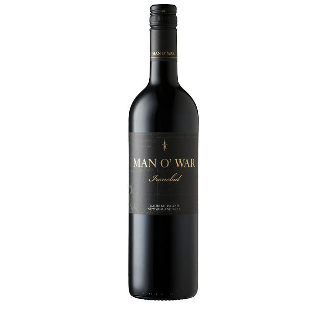 Man O' War Waiheke Island Ironclad Bordeaux Blend 2016 (6 bottle case)