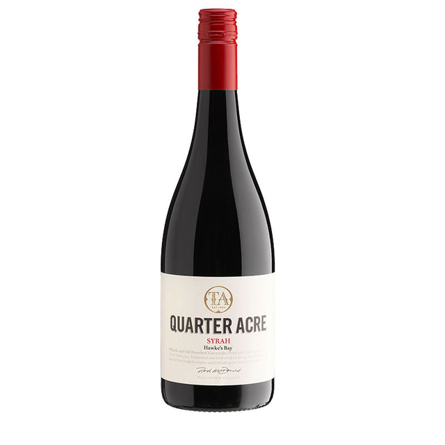 Quarter Acre Hawkes Bay Syrah 2018 (6 bottle case)
