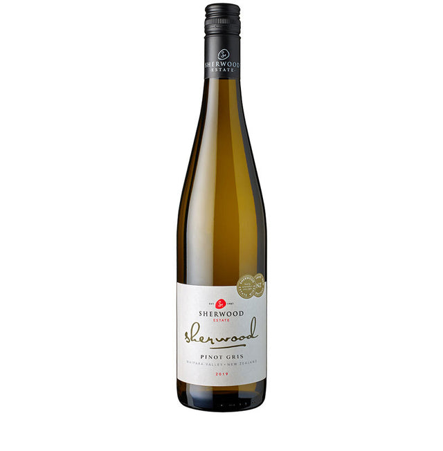 Sherwood Pinot Gris 2019 (6 Bottle Case)